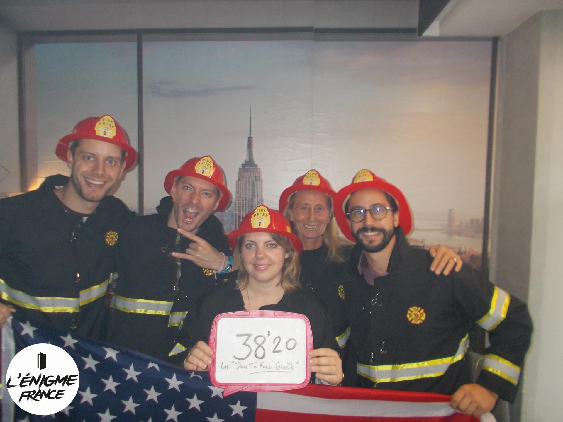 RODEZ - Incendie à New York