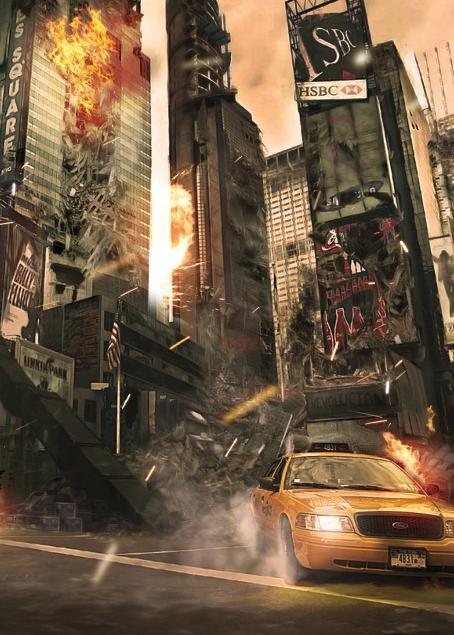 Incendie à New York
